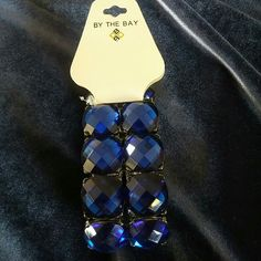 Elastic Blue Bracelet
