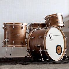 C Drums. Prettiest drum kit I've ever seen