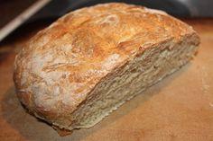Fresh cut home made artisan bread