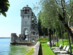 Torre San Marco Wedding Lake Garda Gardone Riviera Italian Honeymoons, Lake Garda, Night Life, Good Times, To Go, Italy, Mansions, House Styles, Places