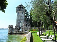 Torre San Marco Wedding Lake Garda Gardone Riviera Lake Garda, Night Life, Good Times, Italy, Mansions, House Styles, Building, Places, Grande