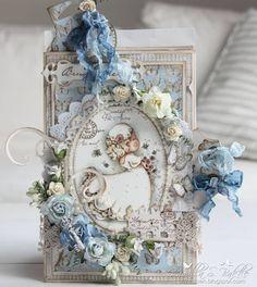 Cards by Camilla: DT Maja Design ~ A wedding card ♥