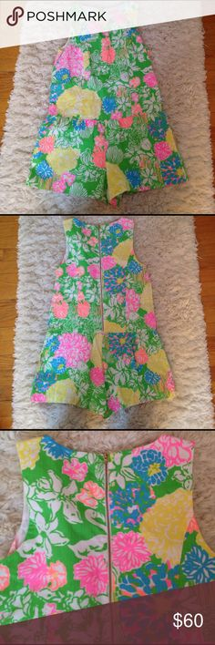 Lilly pulitzer romper Lilly pulitzer Gretch Romper in Hibiscus Stroll Size 6. Excellent condition, only worn once. Lilly Pulitzer Pants Jumpsuits & Rompers