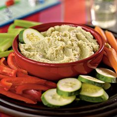I'm loving this dip idea for my son. He loves lima beans! : Recipes for Young Toddlers: 18-24 Months | Love Your Lima Beans Dip | CookingLight.com