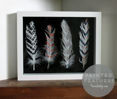 DIY Painted Feathers with Ace Blogger @4men1Lady