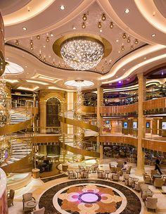 The Piazza Atrium, Royal Princess Cruise Travel, Cruise Vacation, Italy Vacation, Vacation Spots, Vacations, Cruise Ship Pictures, Biggest Cruise Ship, Cruise Planners, Luxury Private Jets