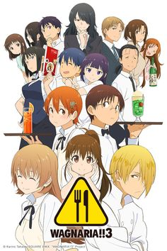 "Crunchyroll - Crunchyroll Adds ""Wagnaria!!3,"" ""Charlotte,"" and ""Classroom☆Crisis"" to Summer 2015 Lineup"