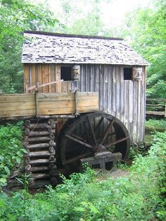 Cades Cove - Old Mill - Smoky Mountains, Tennessee