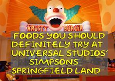 """The Best """"Simpsons""""-Themed Foods To Eat At Universal Studios' Springfield Land"""