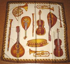 Kopftücher - Halstuch Kopftuch Musik Orchester - ein Designerstück von eulenvielfalt bei DaWanda