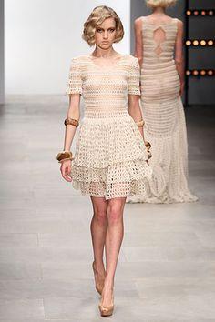 Crochet haute couture printemps 2012 ~ Maman Fée du Crochet