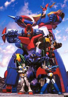 Raydeen, Combatra, and Mazinger, not to mention a certain Evangelion Vintage Robots, Retro Robot, Combattler V, Godzilla, Super Robot Taisen, Ulysse 31, Manga Anime, Days Anime, Robot Cartoon