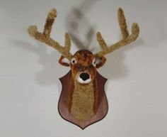 Nathan Vincent 5 - I'd rather have this than a real piece of taxidermy