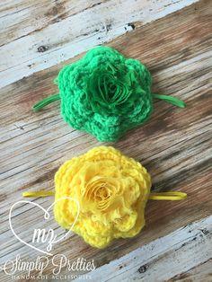Crochet Headband  Baby Headband  Photography Prop  Sparkle