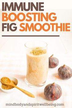 Strong Immune System Fig Smoothie This delicious smoothie is one of the yummiest fig recipes and wonderful immune system boosters … Fig Recipes, Gluten Free Recipes, Healthy Recipes, Healthy Meals, Healthy Eating, Yummy Smoothies, Smoothie Recipes, Juice Recipes, Drink Recipes