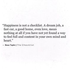 I need to be happy before I make you happy.