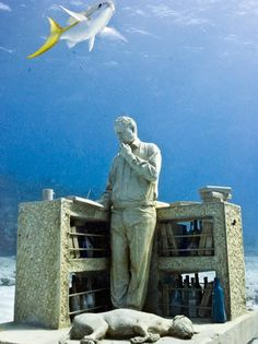 If It's Hip, It's Here: The Underwater Sculptures Of Jason deCaires Taylor