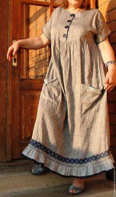 Abaya Fashion, Boho Fashion, Fashion Dresses, Kurta Designs, Blouse Designs, Linen Dresses, Cotton Dresses, Night Dress For Women, Vestidos Vintage