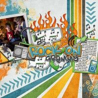 A Project by MamaBeeScrappin from our Scrapbooking Gallery originally submitted 02/25/12 at 11:14 AM