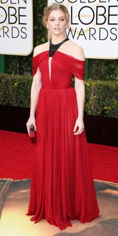 2016 Golden Globes Red Carpet Arrivals - Natalie Dormer  - from InStyle.com