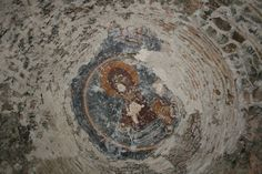 Fresco From Georgia Guria (laituri) orthodox Church.