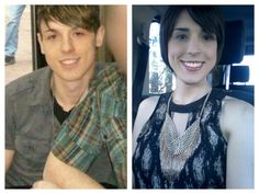 My two lives - Wow, these male to female makeup transformations are incredible!  http://tgcaptions.org/unbelievable-male-to-female-transformaitons