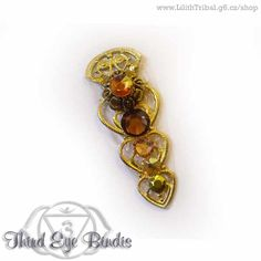 Royal Cobra – tribal bindi (brown)