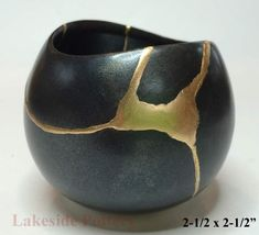 Kintsukuroi Pottery | Gallery - Kintsugi Art Available For Sale