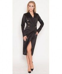 Genese London Tuxedo Dress