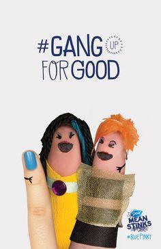 #meanstinks #gangupforgood #contestentry