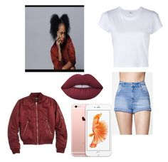 Back at it again with Bahja by jekariya on Polyvore featuring polyvore, fashion, style, RE/DONE, Topshop, Kendall + Kylie, Lime Crime and clothing