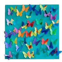 Knutseltip: Je eigen vlinderschilderij   Mama en Zo