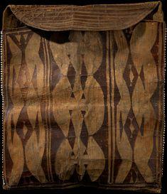 Ponca(?) parfleche bag ca. 1830 Oklahoma