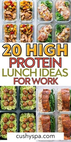 High Protein Lunch Ideas, Healthy High Protein Meals, Low Calorie Lunches, Easy Healthy Meal Prep, High Protein Recipes, Easy Healthy Recipes, Healthy Eating, High Protien Foods, Protien Lunch