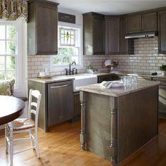 My kitchen layout, L shaped & small