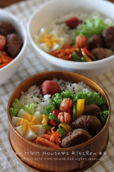 excite エキサイト : ブログ(blog) South Korean Food, Asian Recipes, Healthy Recipes, Japanese Lunch, Good Food, Yummy Food, Bento Box Lunch, Asian Cooking, Aesthetic Food