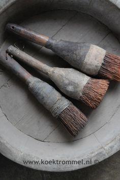 Authentieke vloerkwasten uit zuid-oost Azië.