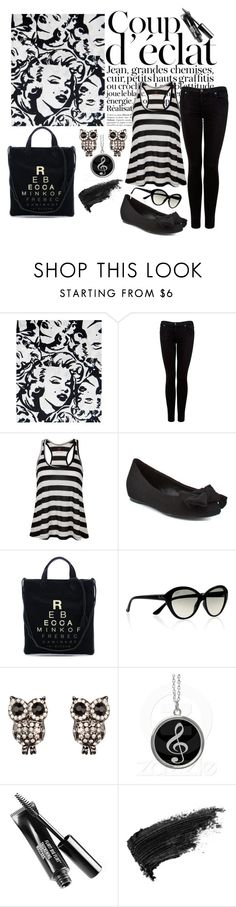 """Rebel Janel"" by koala ❤ liked on Polyvore featuring Betsey Johnson, Bela, Citizens of Humanity, LnA, Pour La Victoire, Rebecca Minkoff, Ray-Ban, Full Tilt and Stila"