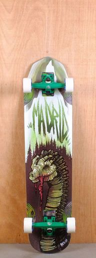 """The Madrid 38"""" Nessie is designed for downhill and freeriding."""