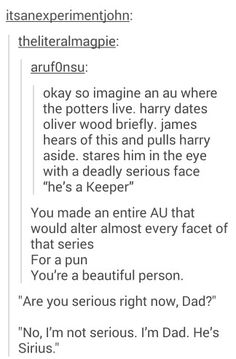 Harry Potter puns are the best :D