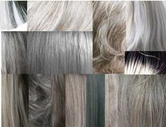The many beautiful shades of silver!