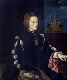 Isabella of Portugal Daughter of Manuel I of Portugal and Maria of Aragon. Wife to Charles V, Holy Roman Emperor. Portrait after Titian, possibly Miguel de la Cruz (Michael Cross) Renaissance Portraits, Renaissance Artists, Renaissance Gown, Spanish Netherlands, Spain History, Spanish Royalty, European Dress, Holy Roman Empire, Art Uk