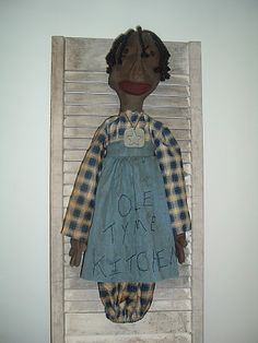 The Ragged Fence : Ole Tyme Kitchen Bag Doll - $23.99