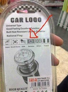 Gran error en el packaging.