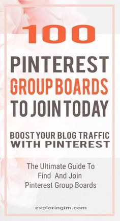 100 Pinterest group
