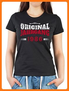 Damen T-Shirt zum 31 Geburtstag Original Jahrgang 1986 Geschenk zum 31. Geburtstag 31 Jahre Geburtstagsgeschenk Geschenk für Frauen zum Geburtstag (*Partner Link)