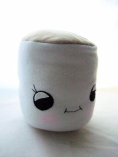 This could be the most important thing that has ever happened to me. Kawaii Marshmallow pillow plush