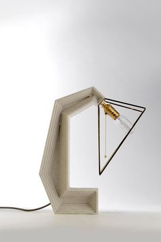 Inside Out Table Lamp by Daevas Design Concrete Light, Concrete Forms, Concrete Table, Lighting Solutions, Inside Out, Lamp Design, Floating Nightstand, Industrial Design, Conception