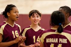 Girls' Volleyball: Middle School