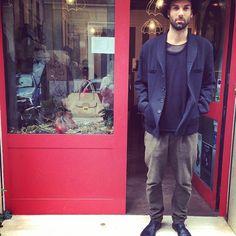 #hat#reinardplank, #blazer#anndemeulemeester, #knitwear#ifonlywastrue, #pant#maisonclochard, #shoes#marsèll
